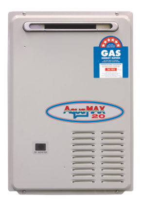 Aquamax 20 litre Gas Continuous Flow Hot Water Heater