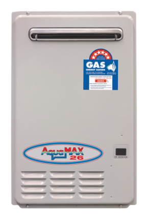 Aquamax 26 litre Gas Continuous Flow Hot Water Heater