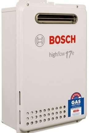 Bosch Highflow 17E Continuous Flow Hot Water Heater