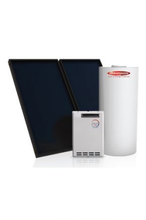 Chromagen SplitLine 400L Solar Hot Water Heater