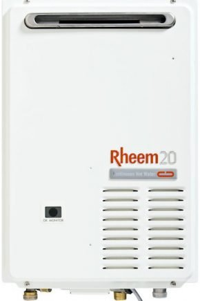 Rheem 20 Continuous Flow Gas Hot Water Heater