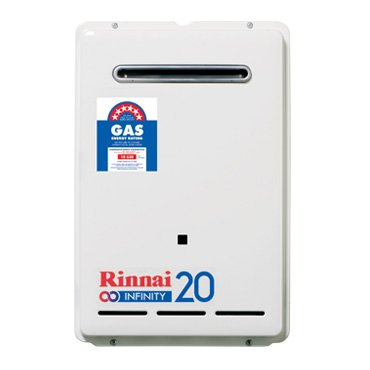 Rinnai Infinity 20 Gas Continuous Flow Hot Water Heater