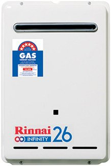 Rinnai Infinity 26 Gas Continuous Flow Hot Water Heater