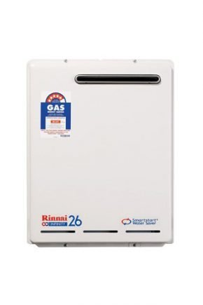 Rinnai Infinity 26 Smartstart Gas Continuous Flow Hot Water Heater