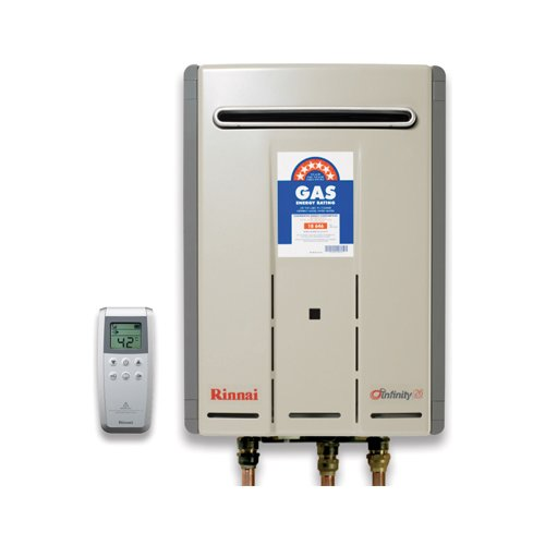 Rinnai Infinity 26 Touch Gas Continuous Flow Hot Water Heater