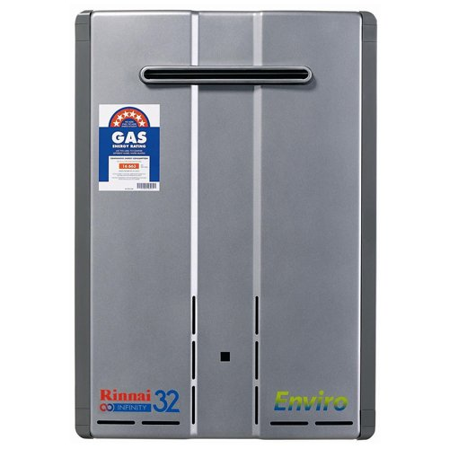 Rinnai Infinity 32 Enviro Gas Continuous Flow Hot Water Heater